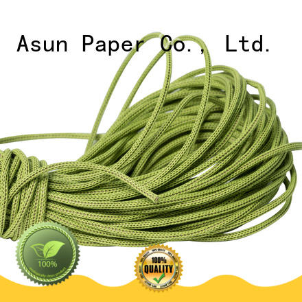 wired paper ribbon series for home textile Asun paper rope
