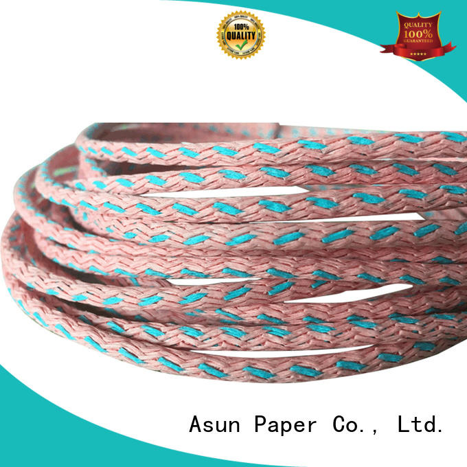 woven core Asun paper rope Brand natural cord factory