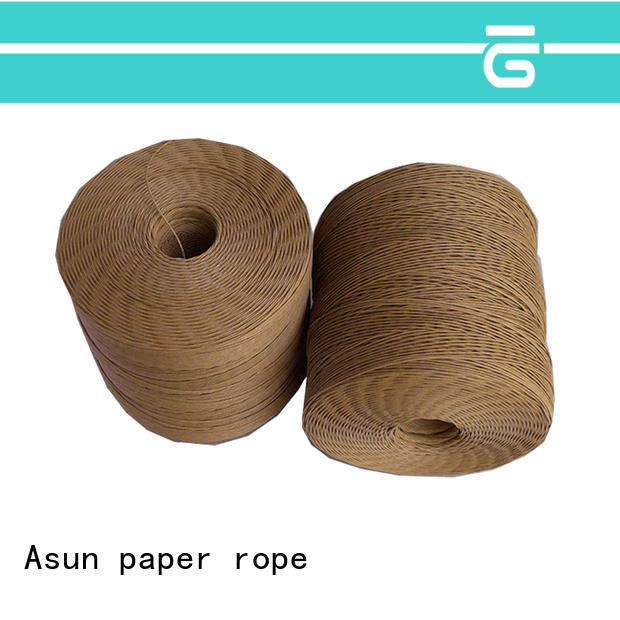 Asun paper rope paper cord personalized for pendant light