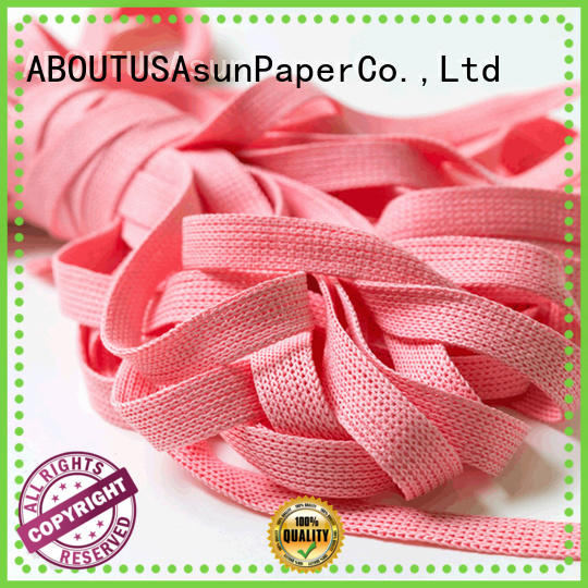 wovenwired paper ribbon series for led lamp