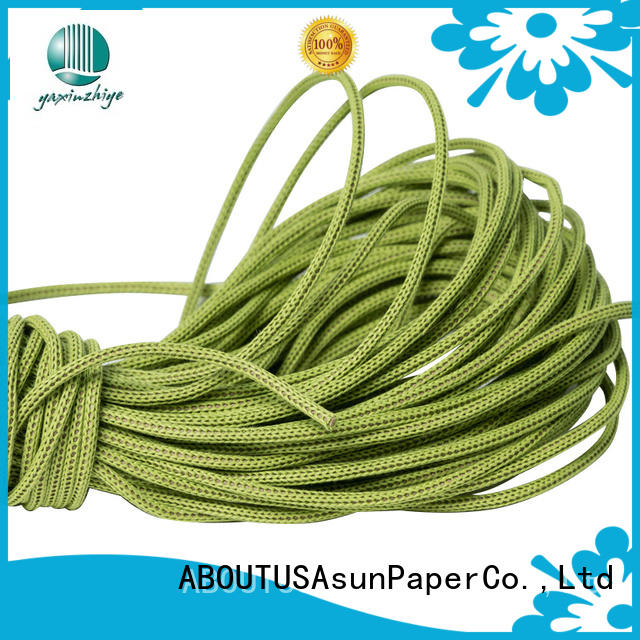 Asun paper rope paper rope ribbon from China for craftwork gifts
