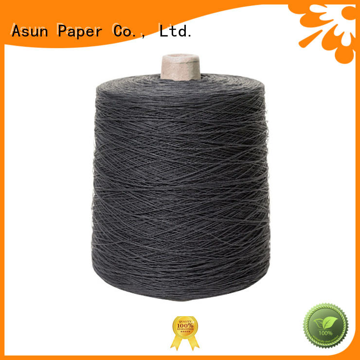 Asun paper rope paper yarn factory for accessories