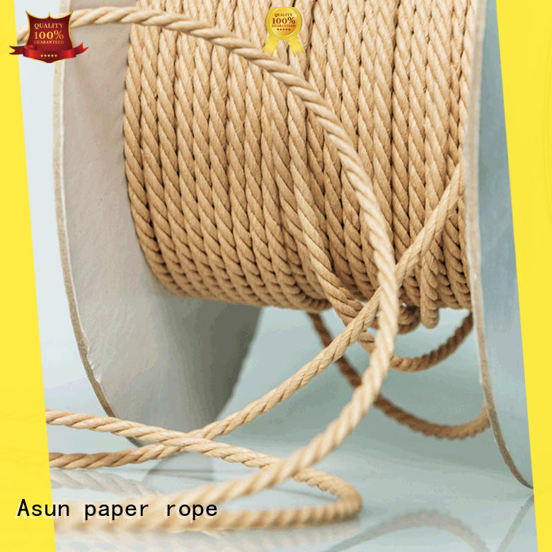Asun paper rope woven paper rope supplier for shoes
