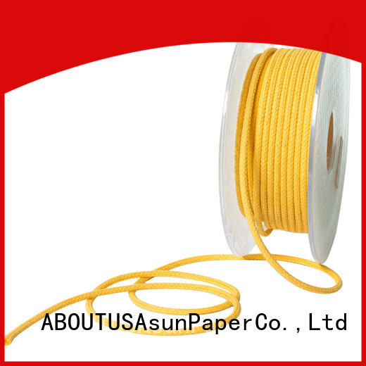 Asun paper rope braided twine wholesale for paper handle