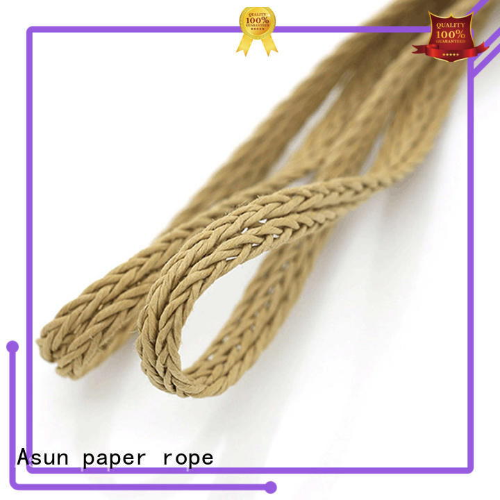 Asun paper rope braided code personalized for paper handle