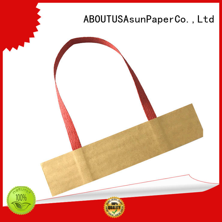 integrated gift bag handles from China for flat
