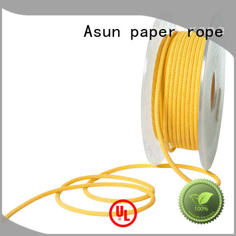 Asun paper rope Brand pulp hollow twisted paper twine core supplier