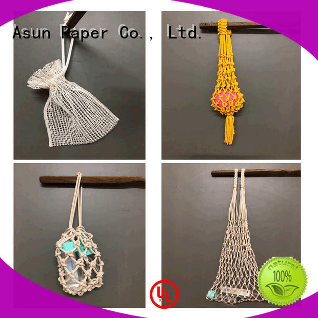 net paper string bag with good price for shop