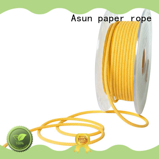 braided twine for paper handle Asun paper rope