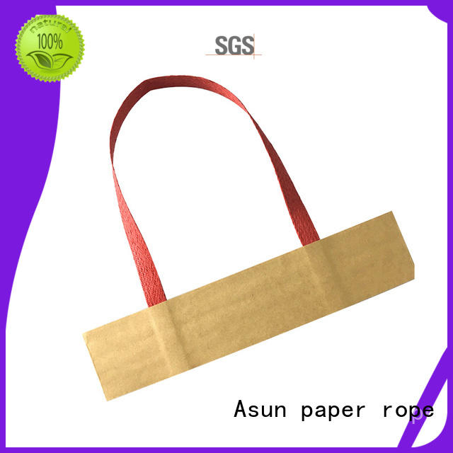 color boxes rope paper bag handle rope Asun paper rope Brand