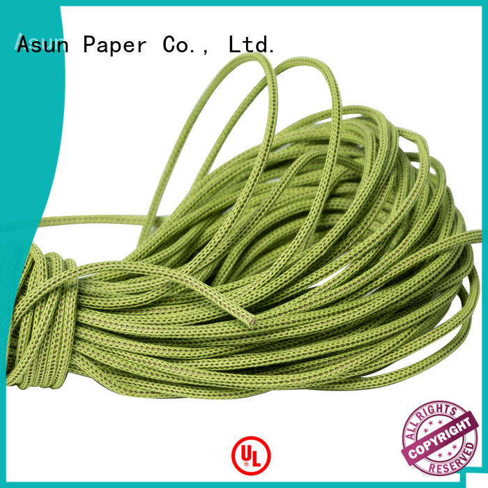 Asun paper rope hollow cord paper directly sale for led lamp