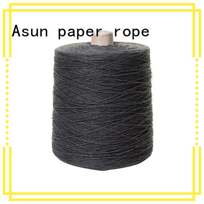 Asun paper rope yarn paper design for textile material