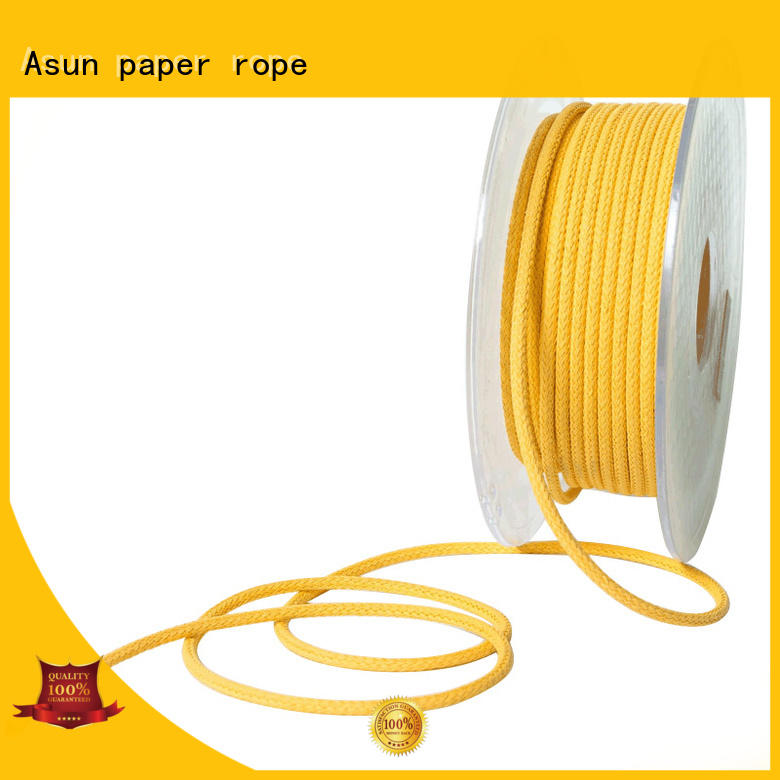 Asun paper rope pure braided code wholesale for pendant light