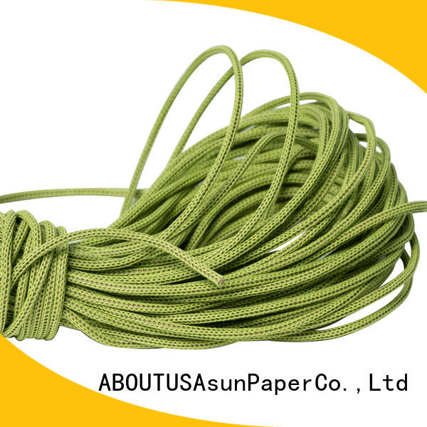 hollow paper rope ribbon series for shoes