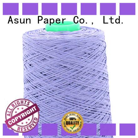 Asun paper rope paper yarn design for textile material