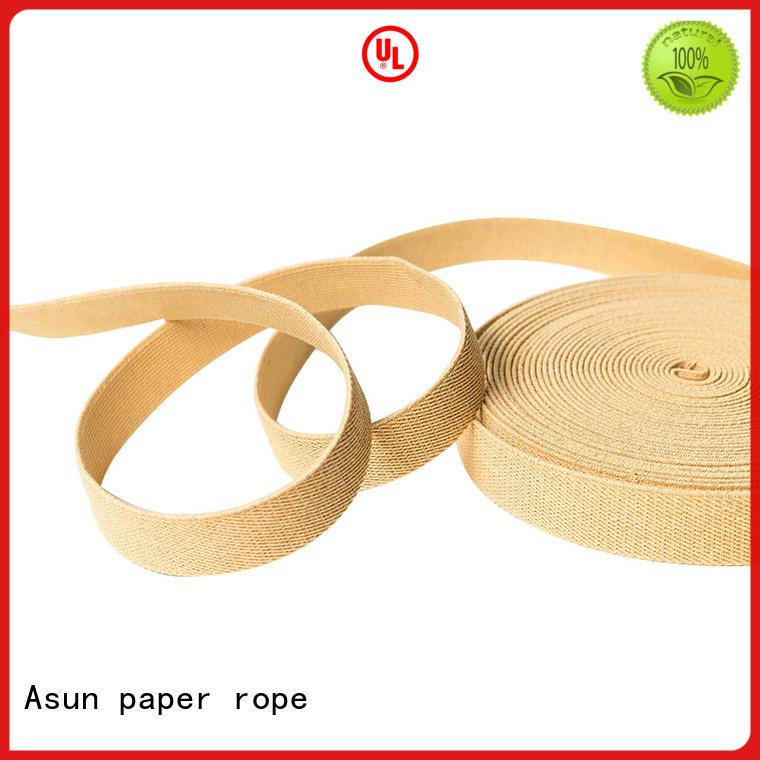 washable flat ribbon environmental paper ribbon Asun paper rope