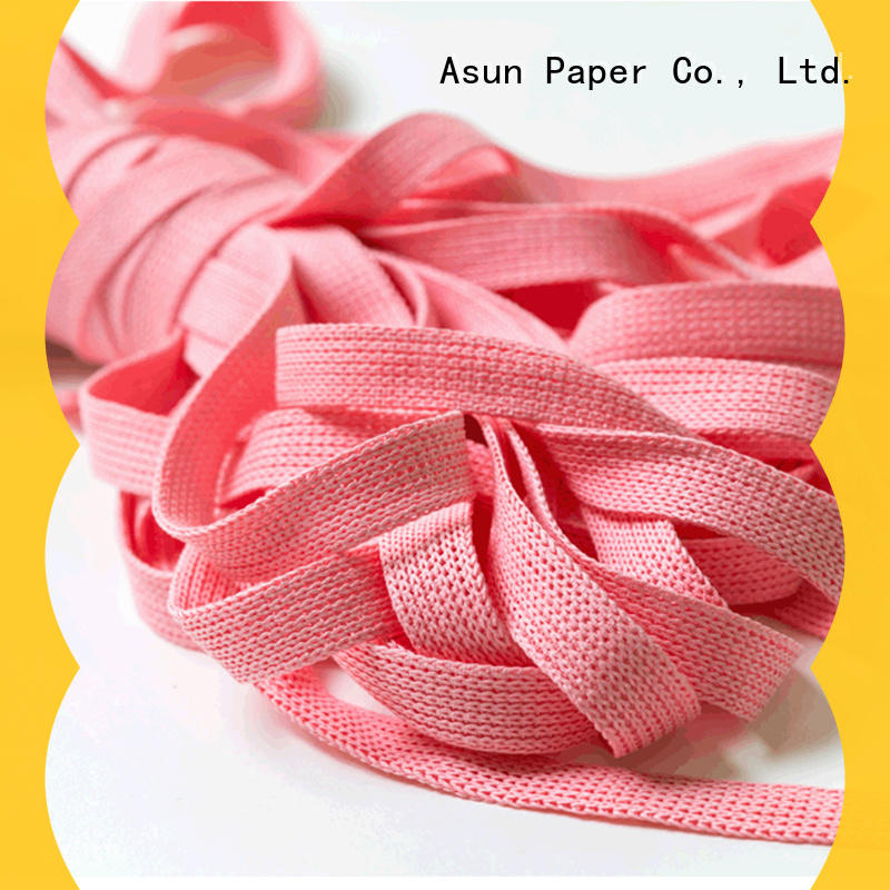 hollow wired paper ribbon directly sale for home textile