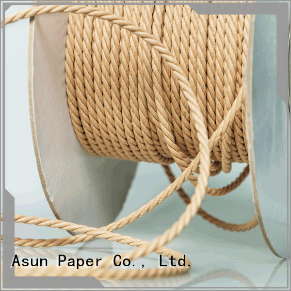 knitted paper rope factory price for led lamp