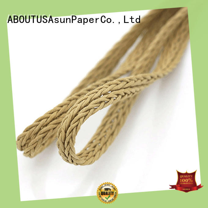 Asun paper rope braided code core garment accessories