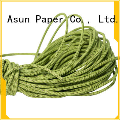 Asun paper rope multifunctional wired paper ribbon series for pendant light