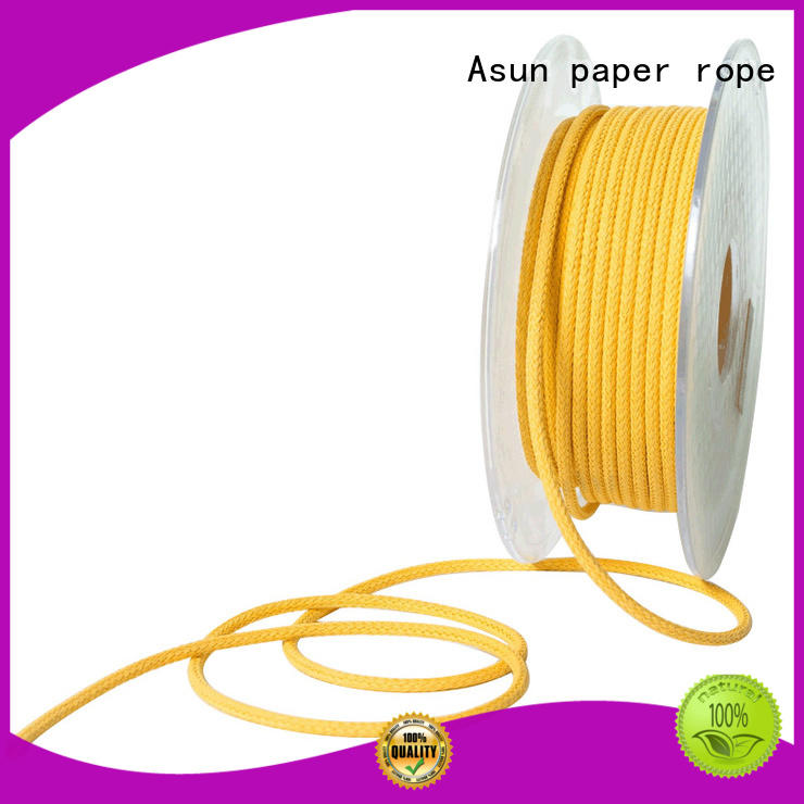 danish paper cord suppliers for shoes Asun paper rope