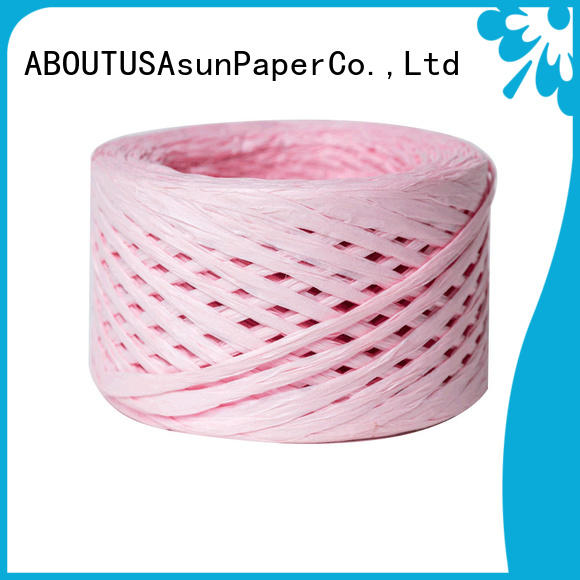 wrapping raffia ribbon directly sale for decoration DIY