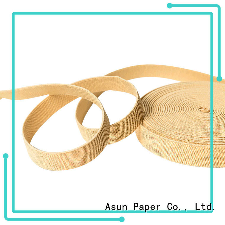 environmental paper ribbon roll directly sale for home textile