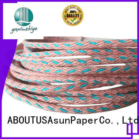 paper twist environmental shoes Asun paper rope