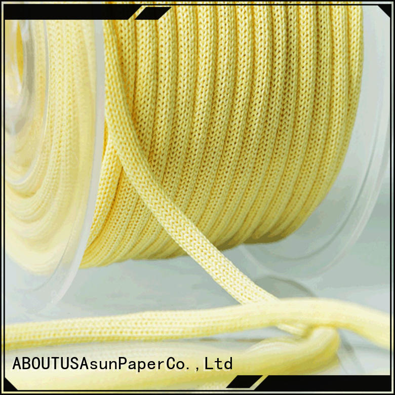 Asun paper rope brown paper twine manufacturer for indoor