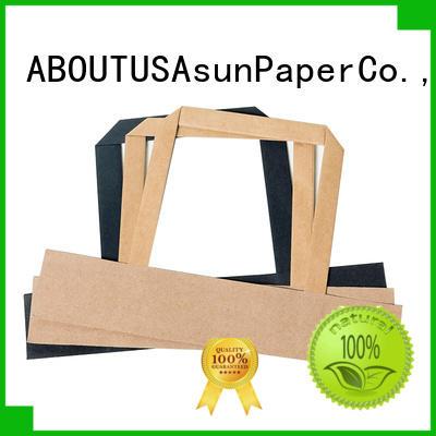 Asun paper rope integrated gift bag handles series for flat