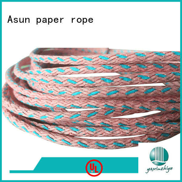 knitted paper twist personalized for indoor