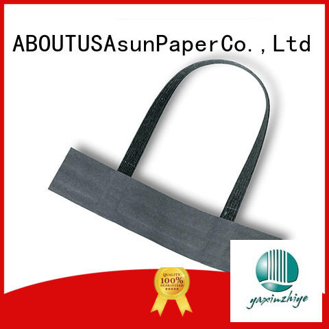 Asun paper rope integrated paper handles manufacturer for indoor