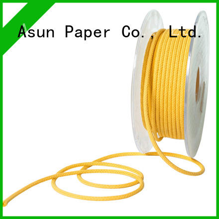 Asun paper rope braided code factory price for paper handle