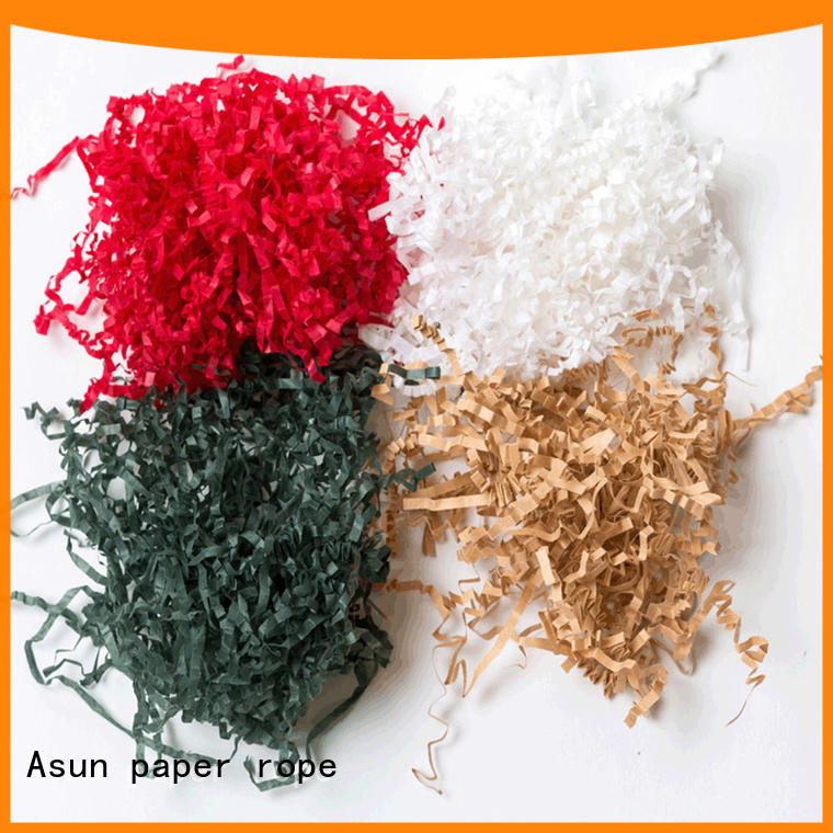 Asun paper rope environmental paper strips customized for wrapping tape