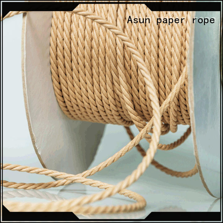 Asun paper rope hollow twine rope factory price for shoes