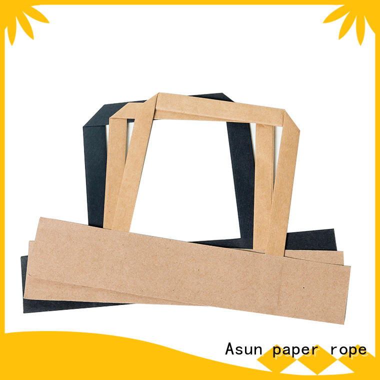Asun paper rope paper handles directly sale for house