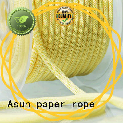 Asun paper rope brown paper twine manufacturer for craftwork gifts
