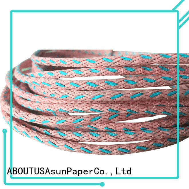 knitted paper twist supplier for led lamp