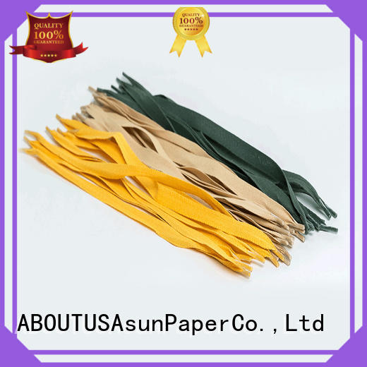 Asun paper rope woven gift bag handles manufacturer for house