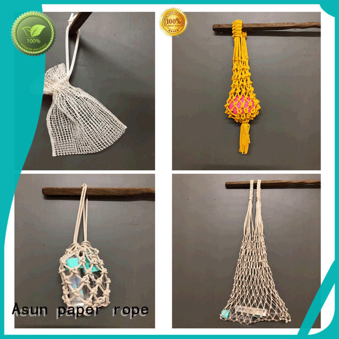 paper string bag inquire now for car Asun paper rope