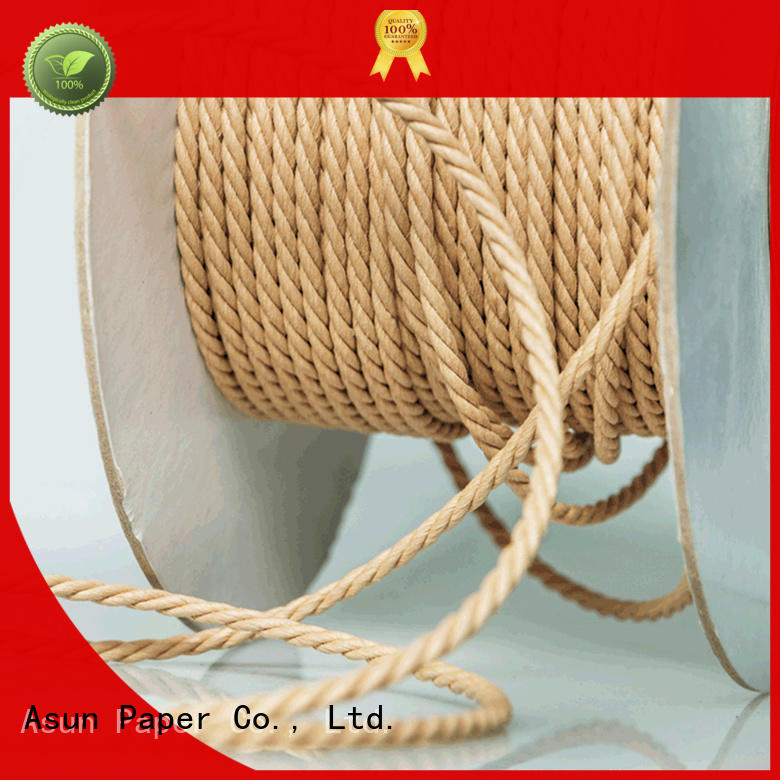 Asun paper rope paper rope factory price for indoor