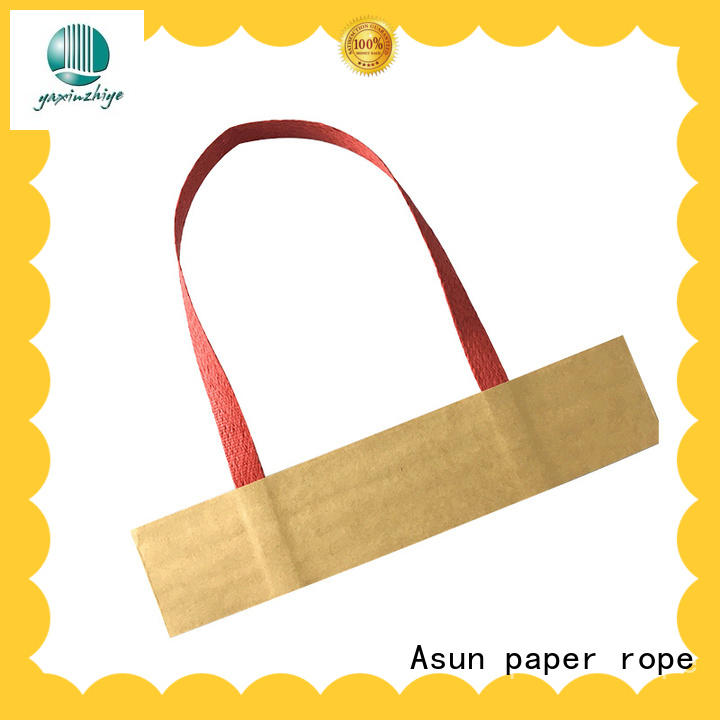 Asun paper rope bag handles wholesale from China for house