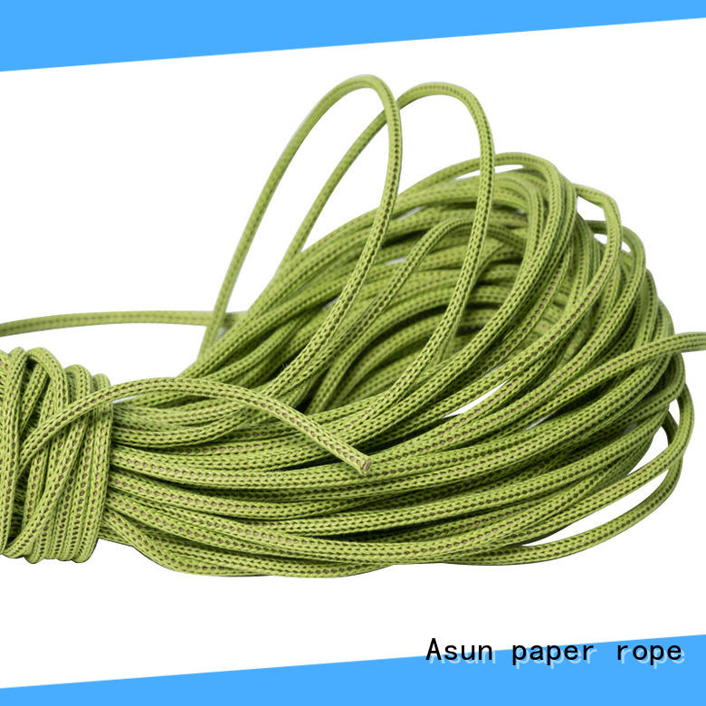 Asun paper rope paper rope ribbon from China for shoes