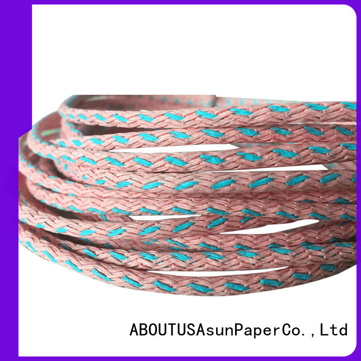 knitted party paper ribbon supplier for led lamp
