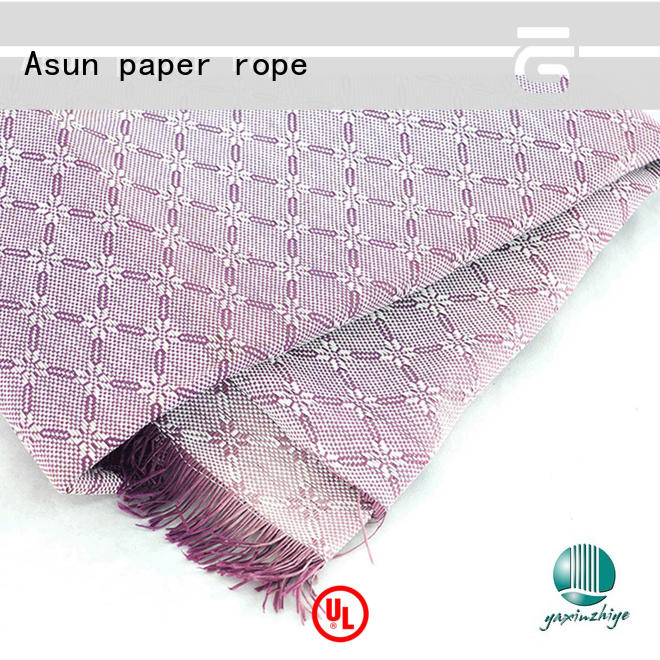 Asun paper rope quality fabric paper with good price for garment accessories home for furnishing printing &packaging for craftwork