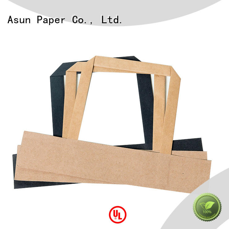 Asun paper rope paper handle from China for indoor