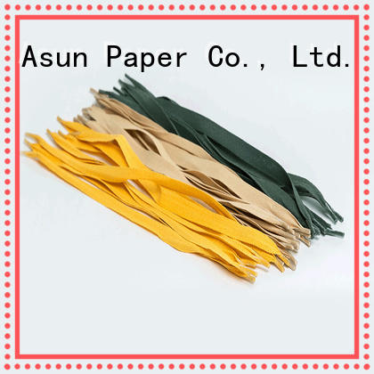 Asun paper rope stable gift bag handles customized for house