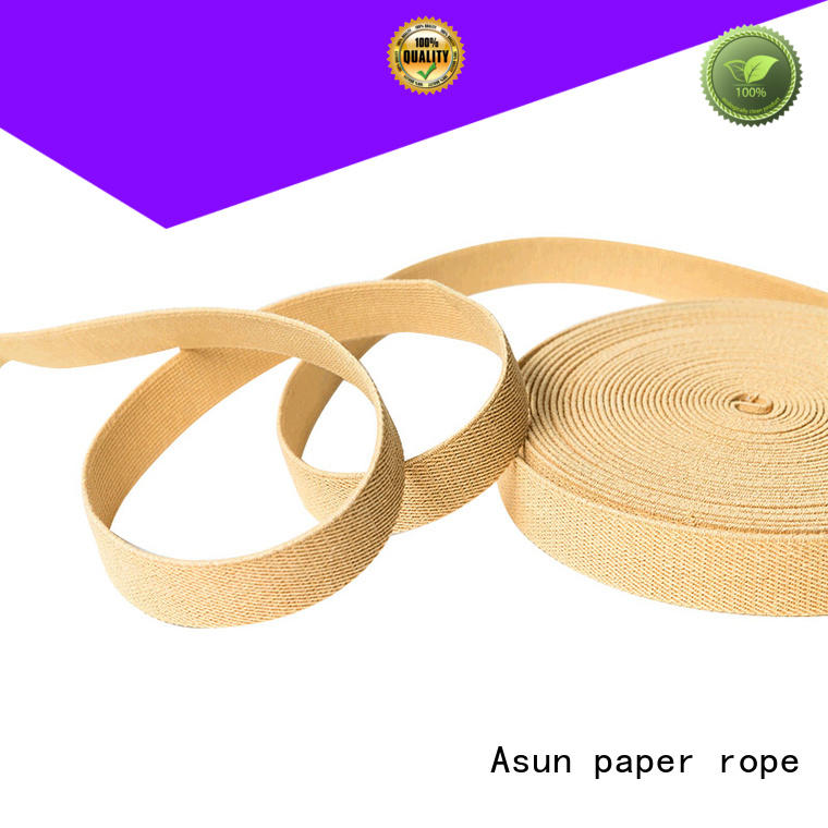 Asun paper rope paper ribbon roll from China for home textile