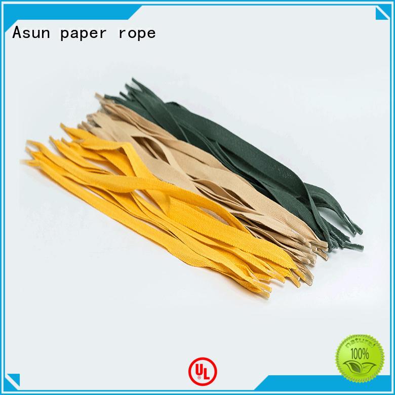 Asun paper rope woven bag handles series for indoor