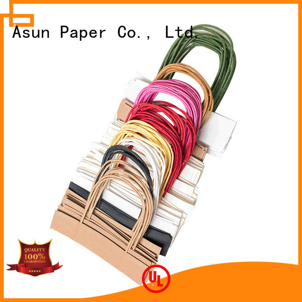 Asun paper rope woven bag handles wholesale series for house